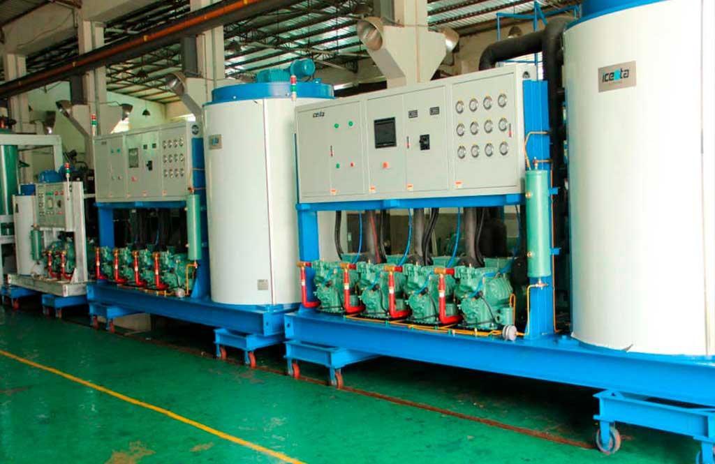 25T flake ice machine water-cooled